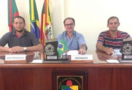 Jacir César Bettio preside Legislativo em Coqueiro Baixo